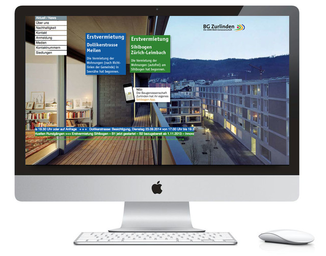 BG Zurlinden Website